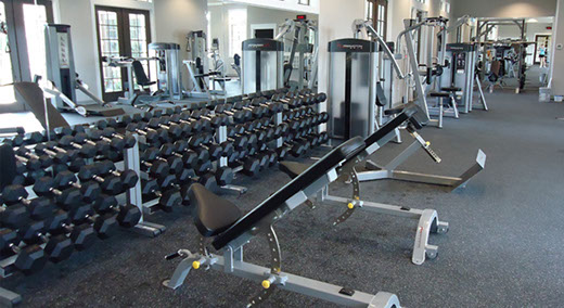 Fitness Room at Sampson Creek
