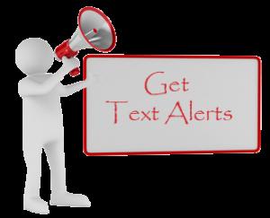 Get Text Alerts