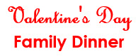 Valentine's Family Dinner Night @ St Johns Golf & COuntry Club