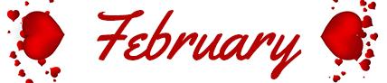 February Newsletter Banner